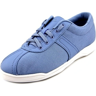 Easy Spirit On Cue Round Toe Canvas Sneakers