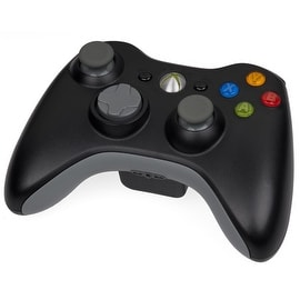 Microsoft Black Wireless Controller for Microsoft Xbox 360 (Refurbished)