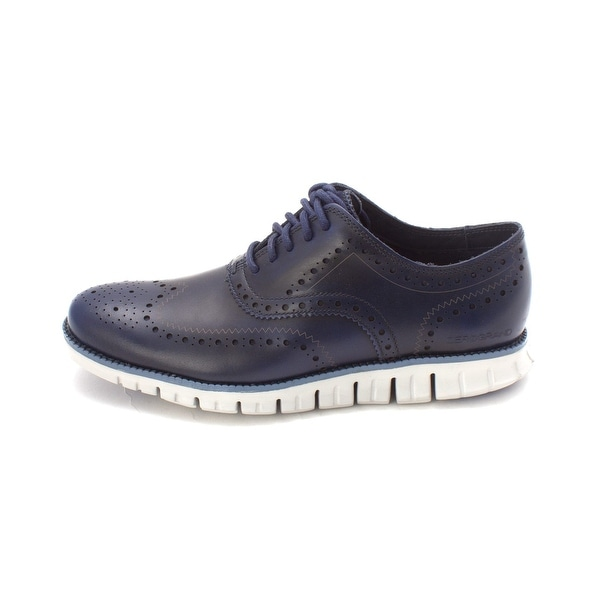 e66b9a23a Shop Cole Haan Mens Zerogrand Wing Ox Leather Lace Up Casual Oxfords ...