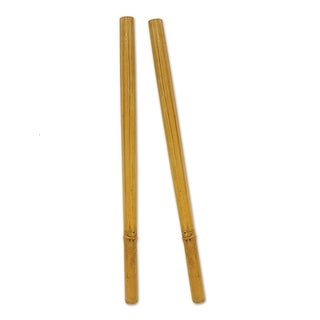 "Club Pack of 12 Tropical Themed Luau Pu'ili Stick Decorations 20"""