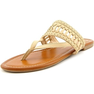 Jessica Simpson Ridgely Women Open Toe Leather Thong Sandal