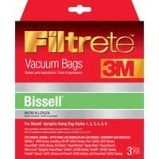 Filtrete 66707A-6 Vacuum Cleaner Bag, Bissell