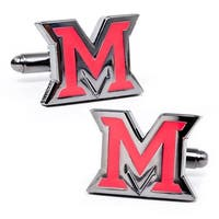 Miami University of Ohio Cufflinks
