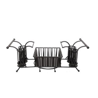 J Miles UH-BC264 Buffet Caddy for Plates, Utensils, Napkins