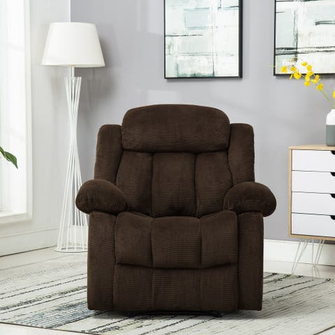 Big and Tall Upholstery Home Manual Overstuffed Recliner Sofa Chair