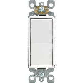 Leviton 20A Wh Sp Grnd Switch