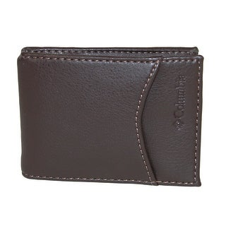 Columbia Men's RFID Protected Front Pocket Wallet With Money Clip - One size