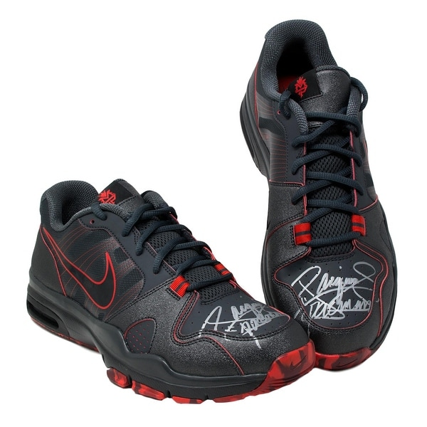 Shop Manny Pacquiao Signed Nike Trainer Shoes Pair Size 12