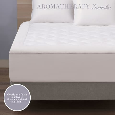 Cozy Classics Aromatherapy Infusion Lavender Mattress Pad
