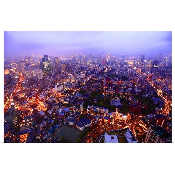 """Roppongi City View"" Poster Print"