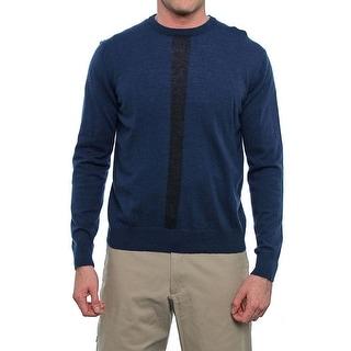 C/89Men Long Sleeve Crew Neck Sweater Men Regular Sweater Top