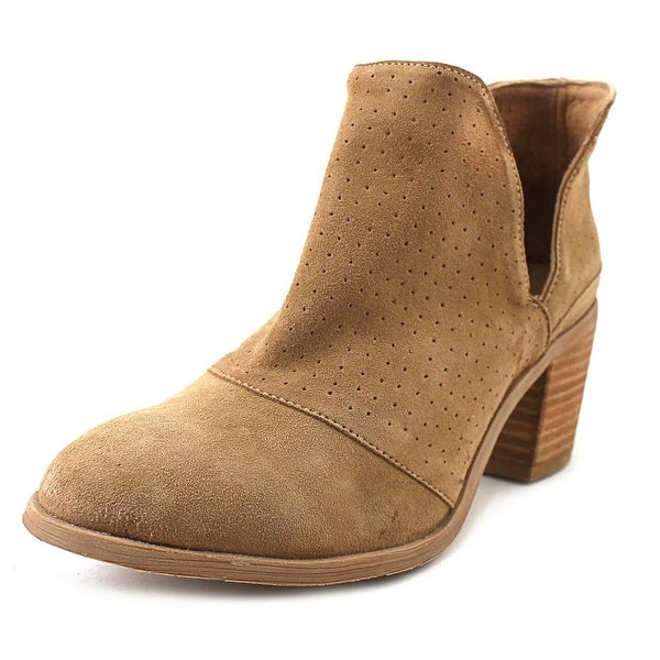 Rebels Gayna Women Round Toe Synthetic Tan Bootie