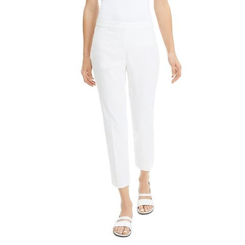 Theory Womens Pants Straight Pull On