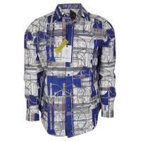 Robert Graham ORWELL Geometric Print Classic Fit Sports Dress Shirt