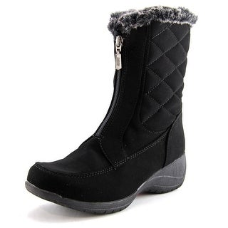 Khombu Angela Women  Round Toe Synthetic Black Winter Boot