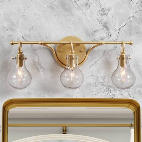 "Modern 3-light Wall Bathroom Vanity Lighting Sconce for Powder Room - L20""x H8.5""x E6"""