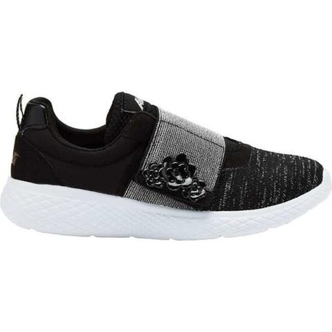 Avia Girls' Avi-Rio Sneaker Black/White/Silver