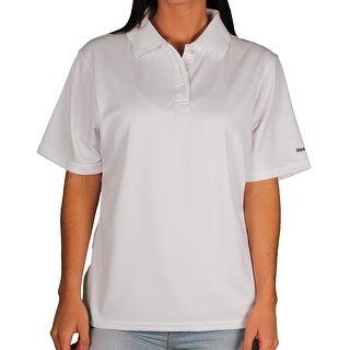 Reebok Women's Plus-Size PlayDry Performance Polo