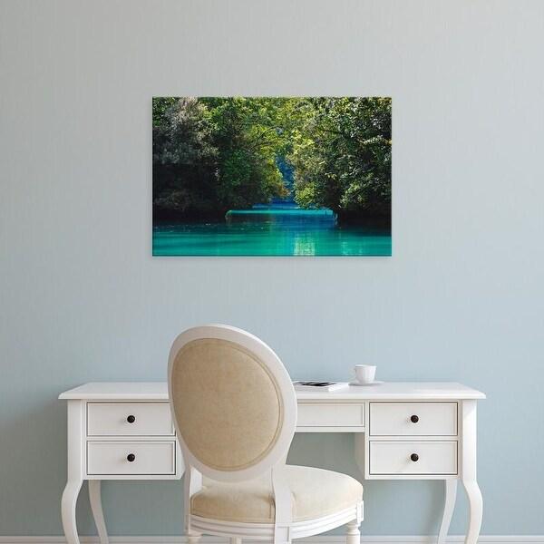 Easy Art Prints Keren Su's 'Rock Islands Ii' Premium Canvas Art