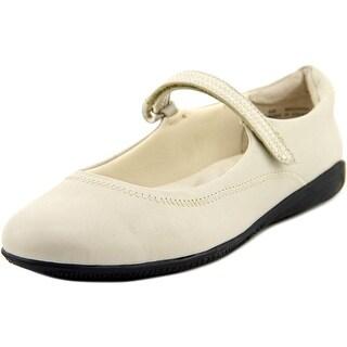 Walking Cradles Jane W Round Toe Leather Mary Janes