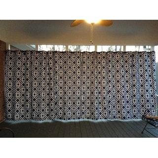 Intelligent Design Alana Geometric Print Curtain Panel