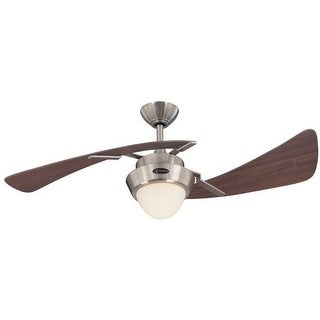 "Westinghouse 7214100 Harmony 48"" 2 Blade Hanging Indoor Ceiling Fan with Reversi"
