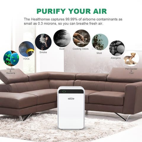 Home Use Air Purifier 3-Layer Filtration