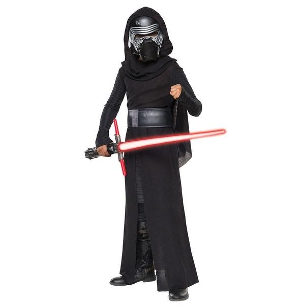 Child Deluxe Star Wars The Force Awakens Kylo Ren Villain Costume
