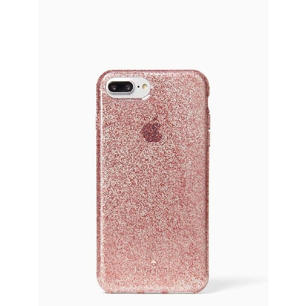 Shop Kate Spade New York Flexible Tinted Glitter Case for iPhone 8 Plus / iPhone 7 Plus / iPhone