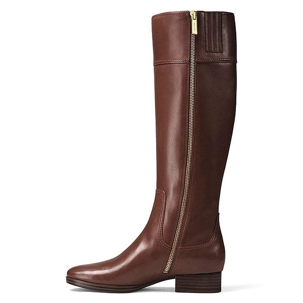 92eb8af8666 Michael Michael Kors Womens Harland Boot Leather Closed Toe Knee High  Fashion.