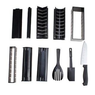 Image Sushi Making Kit Roller Set Rice Roll Mold Roller Cutter