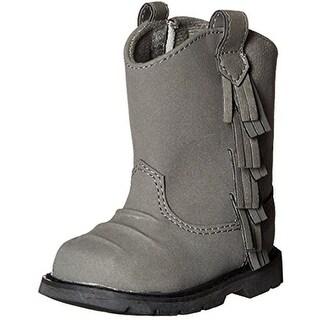 Baby Deer Boots Fringe Western