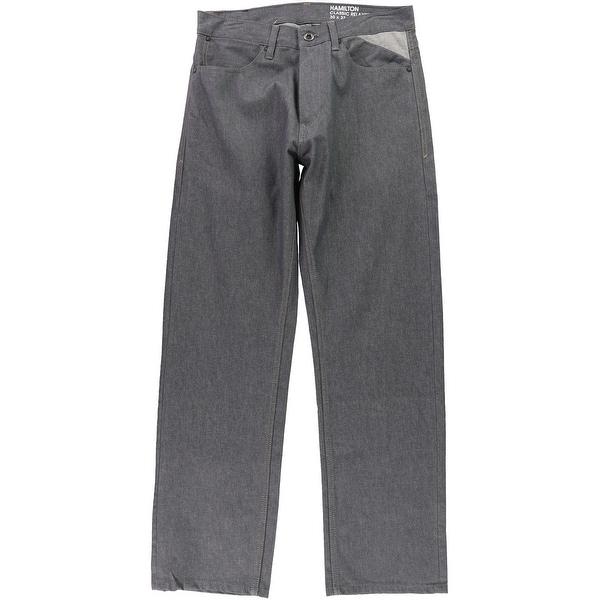 Sean John Mens Classic Relaxed Jeans, grey, 30W x 32L - 30W x 32L. Opens flyout.