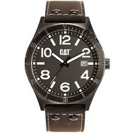CAT WATCHES mens Brown Leather Strap Watch