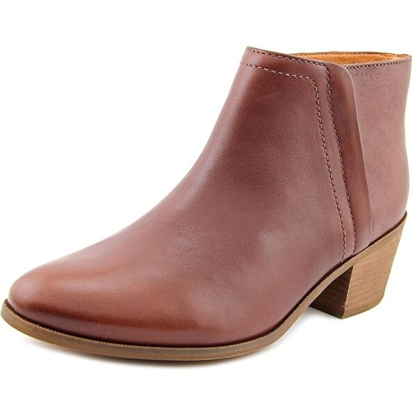 Carlos by Carlos Santana Hyde Round Toe Leather Bootie