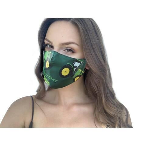 John Deere Reusable and Washable Unisex Adjustable Straps Fashion Cloth Face Mask