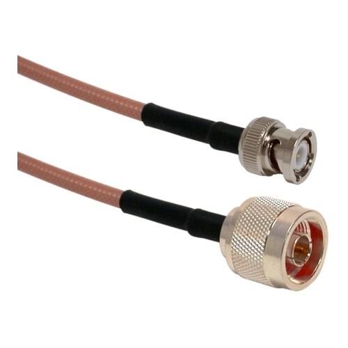 Wireless Solutions - 3' RG142P Jumper NM - BNCM