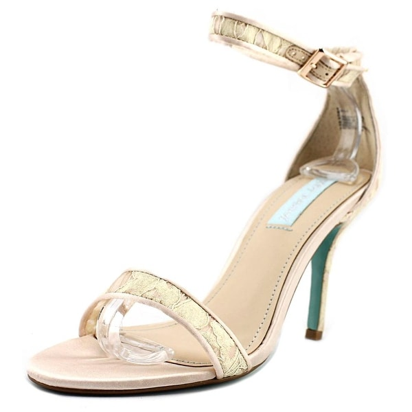 Betsey Johnson Shilo Champagne Sandals