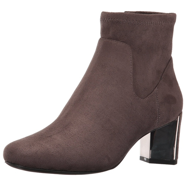 Nine West Womens Falup Round Toe Ankle Fashion Boots