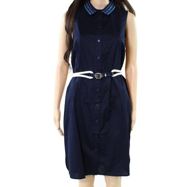 Men's Clothing Tommy Hilfiger Blue Dress Size 16 New
