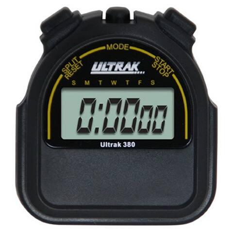 Ultrak 380 Sport Stopwatch - Black