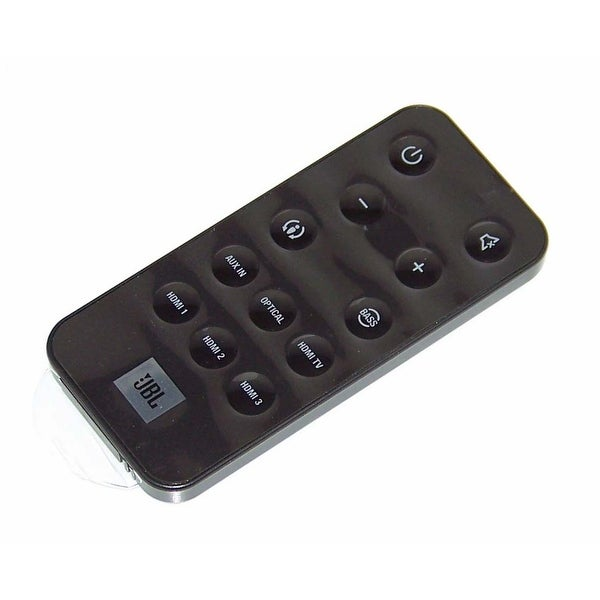 OEM JBL Remote Control Originall Shipped With: CINEMA SB400, CINEMASB400, SB400