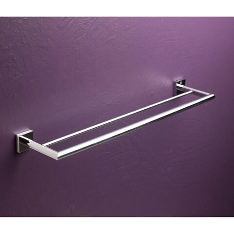 """Bissonnet 754510 Quaruna 24"""" Double Towel Bar - CHROME - n/a"""