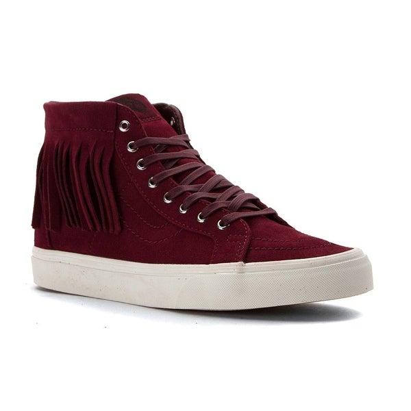 cd5716266f Shop Vans SK8 Hi Moc Women Round Toe Suede Sneakers - Free Shipping On  Orders Over  45 - Overstock - 18536295