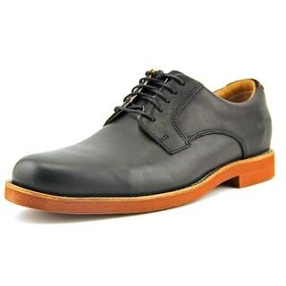 Sebago Thayer Oxford Men W Round Toe Leather Black Oxford