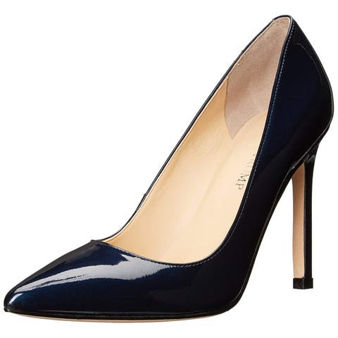 Ivanka Trump Womens CARRA Leather Pointed Toe Classic Pumps