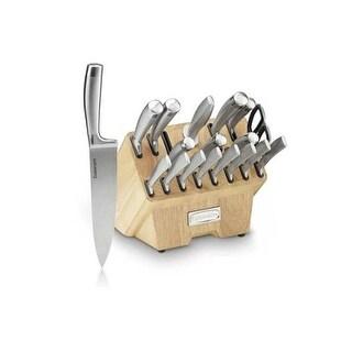 Cuisinart 19 Pcs Stainless Steel Cutlery Block Set Cutlery 19 Pcs. Block Set