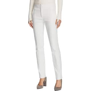 Tory Burch Womens Vanner Pants Seamed Lyocell Blend|https://ak1.ostkcdn.com/images/products/is/images/direct/76e633f7516cb77c5419e949e540b8f5a7ab099e/Tory-Burch-Womens-Vanner-Pants-Pleated-Straight.jpg?impolicy=medium