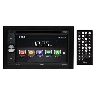 """Boss 6.2"""" Double Din DVD/CD Receiver USB/SD Remote"""