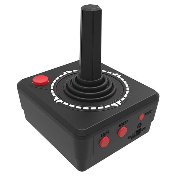 Atari 2600 Handheld Joystick - Play 10 Classic Games - Black
